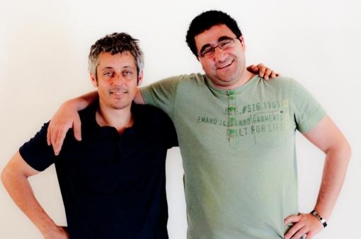 Ricky Davila y pere Pons